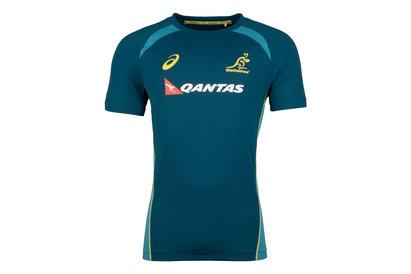 Asics Australia Wallabies 2017/18 Rugby Training Shirt