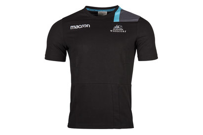Macron Glasgow Warriors 2017/18 Travel Rugby T-Shirt
