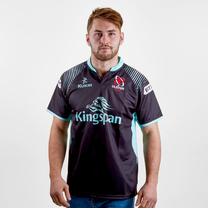 Kukri Ulster 2017/19 Alternate S/S Replica Rugby Shirt
