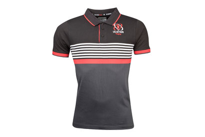 Kukri Ulster 2017/18 Players Knitted Rugby Polo Shirt
