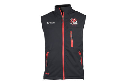 Kukri Ulster 2017/18 Players Softshell Elite Rugby Gilet