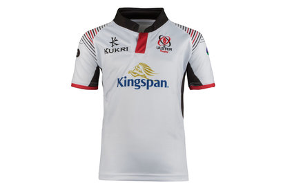 Kukri Ulster 2017/19 Kids Home S/S Replica Rugby Shirt
