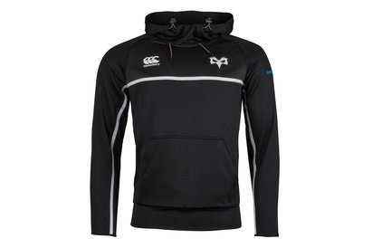 Canterbury Ospreys 2017/18 Players Training Hooded Rugby Sweat