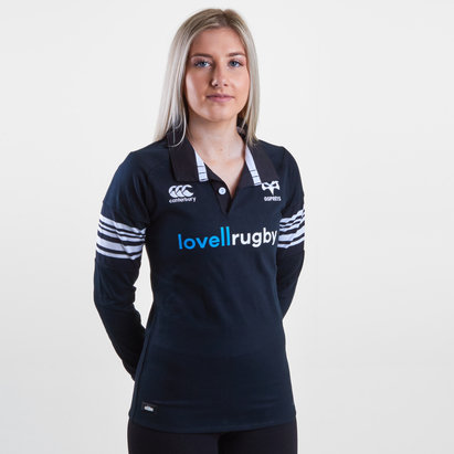 Canterbury Ospreys 2017/18 Ladies Home Classic L/S Rugby Shirt