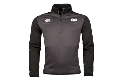 Canterbury Ospreys 2017/18 Thermoreg 1/4 Zip Rugby Top