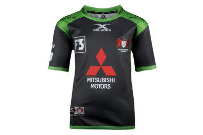 X Blades Gloucester 2017/18 Alternate Kids S/S Replica Rugby Shirt
