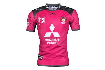 X Blades Gloucester 2017/18 European S/S Replica Rugby Shirt