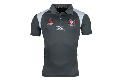 X Blades Gloucester 2017/18 Players Redfern Rugby Polo Shirt