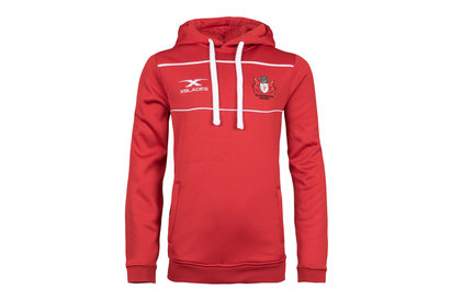 Image of Gloucester 2017/18 Milford Youth Hooded Rugby Sweat