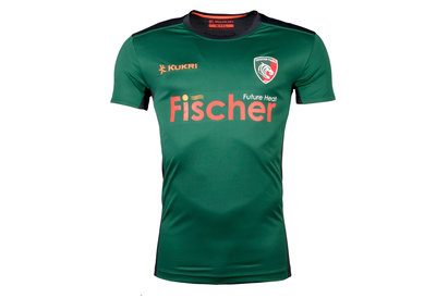Kukri Leicester Tigers 2017/18 Players Rugby Training T-Shirt