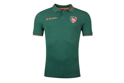 Kukri Leicester Tigers 2017/18 Pique Rugby Training Polo Shirt