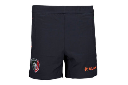 Kukri Leicester Tigers 2017/18 Kids Rugby Training Shorts