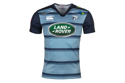 Canterbury Cardiff Blues 2017/18 Home Pro S/S Rugby Shirt