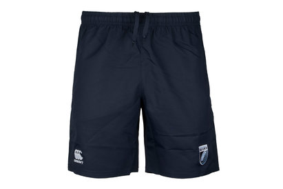 Canterbury Cardiff Blues 2017/18 Players Rugby Gym Shorts