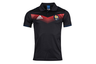 adidas France 2017/18 Presentation Rugby Polo Shirt