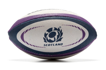 Gilbert Scotland Official Replica Mini Rugby Ball