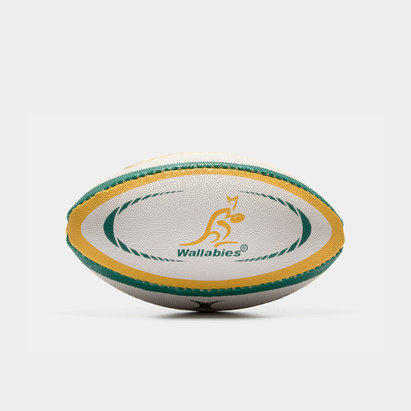 Gilbert Australia Wallabies Official Replica Mini Rugby Ball