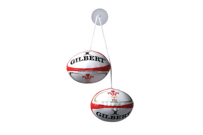 Gilbert Wales Dangle Set Rugby Balls