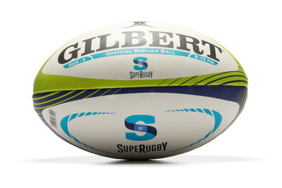 Gilbert Super Rugby Official Replica Rugby Ball