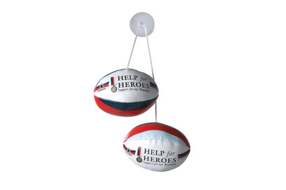 Gilbert Help for Heroes Dangle Set Rugby Balls