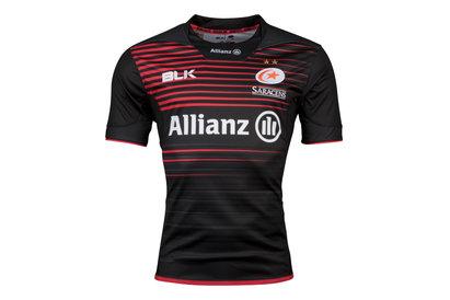 BLK Saracens 2017/18 Home S/S Replica Rugby Shirt
