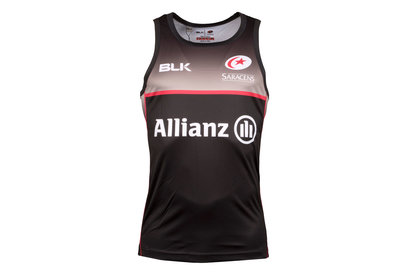 BLK Saracens 2017/18 Players Rugby Training Singlet