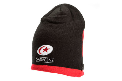 BLK Saracens 2017/18 Players Rugby Beanie Hat