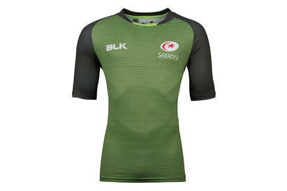 BLK Saracens 2017/18 Coaches Rugby Training T-Shirt