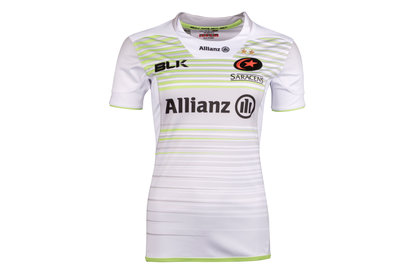 BLK Saracens 2017/18 Ladies Alternate S/S Replica Rugby Shirt