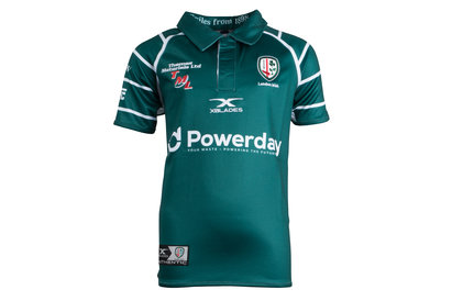 X Blades London Irish 2017/18 Kids Home S/S Replica Rugby Shirt