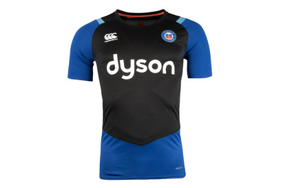 Image of Bath 2017/18 Players Superlight Rugby Training T-Shirt