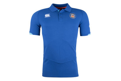 Canterbury Bath 2017/18 Players Cotton Pique Rugby Polo Shirt