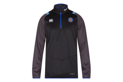 Canterbury Bath 2017/18 Players 1/4 Zip Rugby Training Top