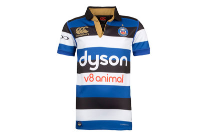 Canterbury Bath 2017/18 Home Kids S/S Pro Rugby Shirt