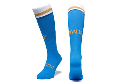Macron Italy 2017/18 Home Match Rugby Socks