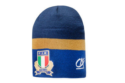 Macron Italy 2017/18 Players Rugby Beanie Hat