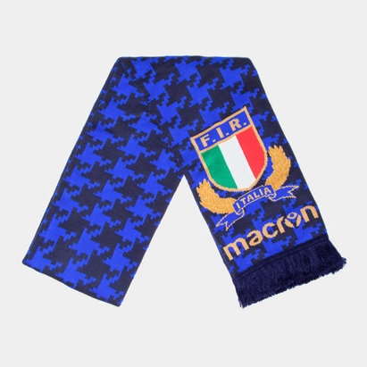 Macron Italy 2017/18 Supporters Rugby Scarf