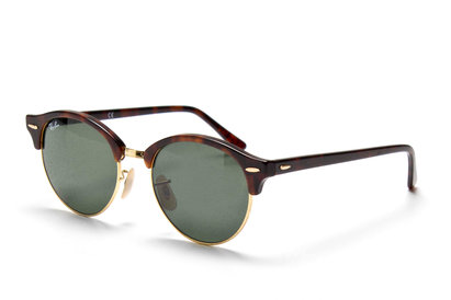 Ray-Ban 4246 990 Clubround Sunglasses