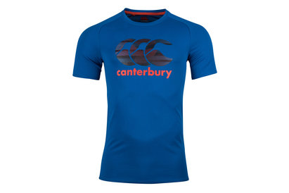 Canterbury Vapodri Poly Large Logo Training T-Shirt