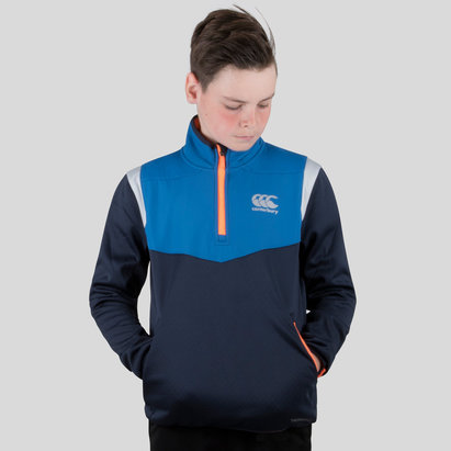 Canterbury Thermoreg Spacer Kids Fleece 1/4 Zip Training Top
