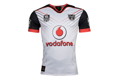 Canterbury New Zealand Warriors NRL 2018 Alternate S/S Rugby Shirt