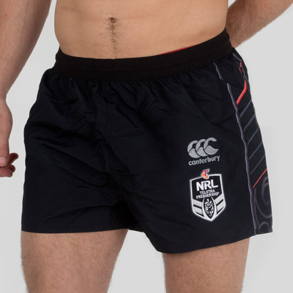 Canterbury New Zealand Warriors NRL 2018 Home/Alt Rugby Shorts