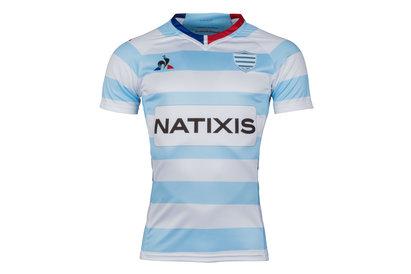 Le Coq Sportif Racing 92 2017/18 Home S/S Replica Rugby Shirt