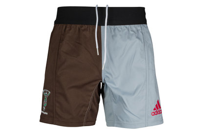 adidas Harlequins 2017/18 Home Players Rugby Shorts