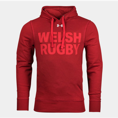 Under Armour Wales WRU Graphic Hooded Sweat