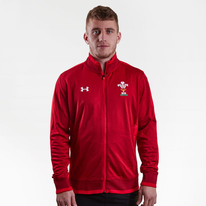 Under Armour Wales WRU 2017/18 Rugby Track Jacket