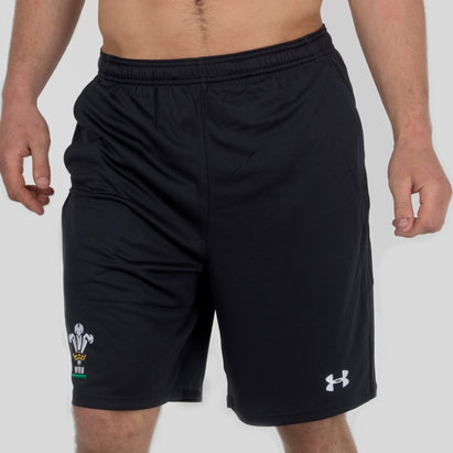 Under Armour Wales WRU 2017/19 Players 9 Inch Rugby Training Shorts