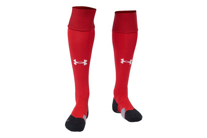 Under Armour Wales WRU 2017/19 Home Players Rugby Socks
