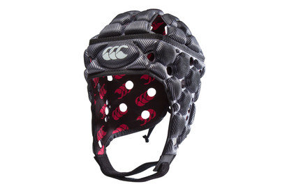 Ventilator Rugby Headguard Silver Black Kids