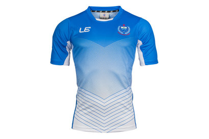 LE Sportswear Samoa 2017 Players Rugby Training T-Shirt